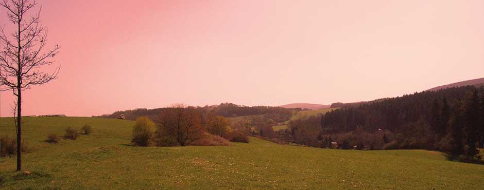 Wer die Schönheit einer Landschaft entdecken will muss langsam reisen.
